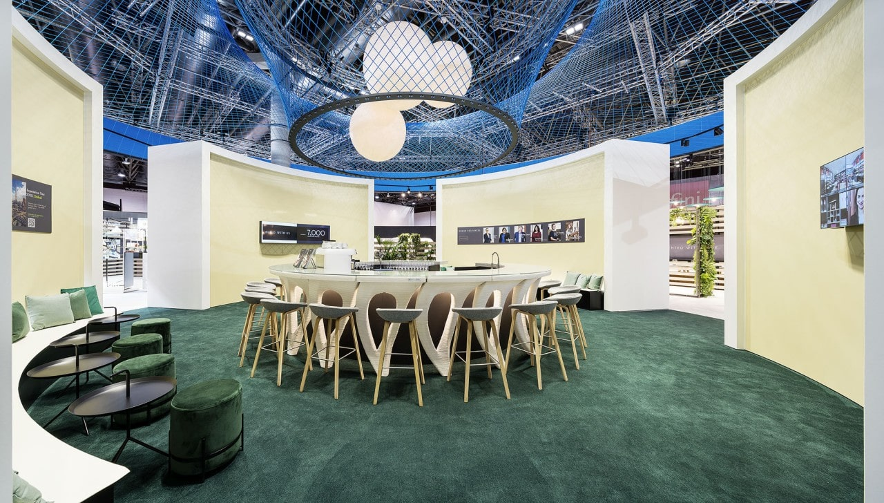 EuroShop Messestand Umdasch - Lounge
