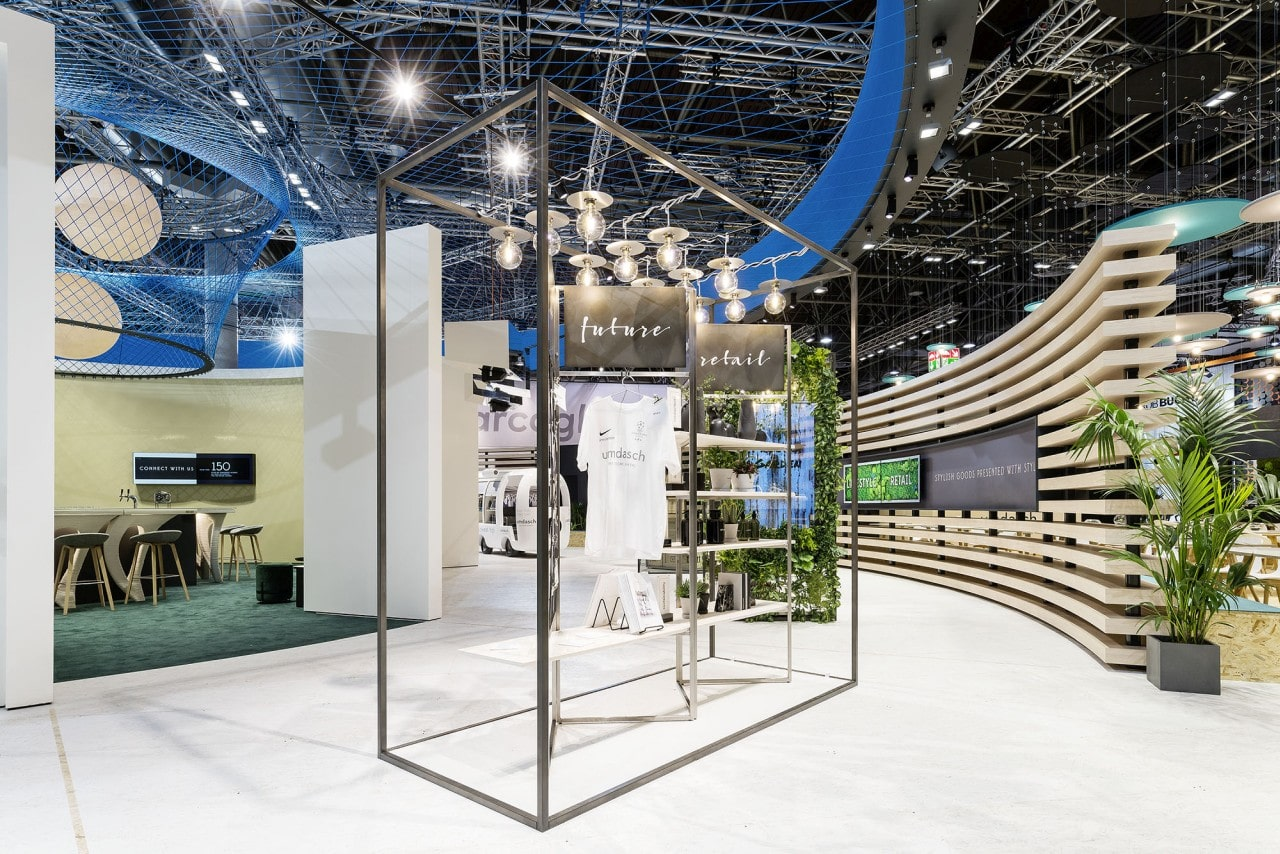 Messestand Umdasch Display Future Retail