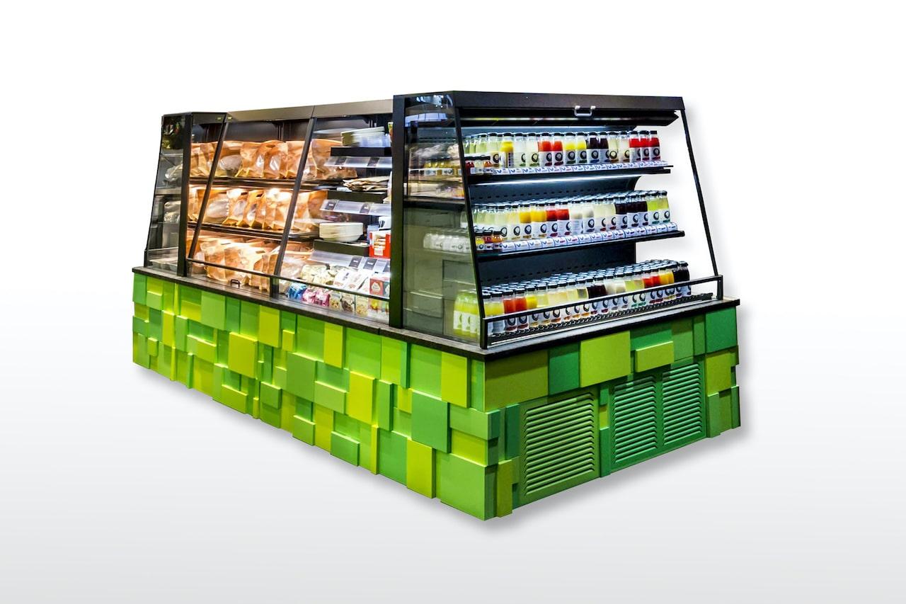 TopSpot to go: SB-Systemmöbel für Convenience-Produkte
