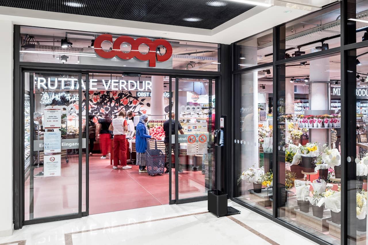 Eröffnung Coop Bozen
