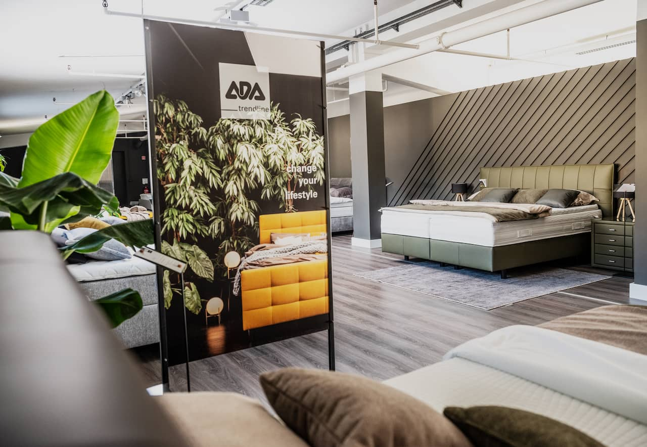 ADA Möbelwerke mit neuem Messe- und POS-Konzept