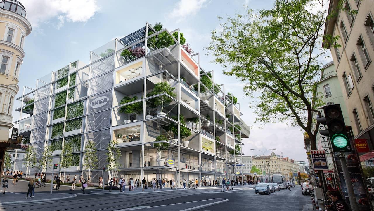 IKEA Wien Westbahnhof ist geöffnet