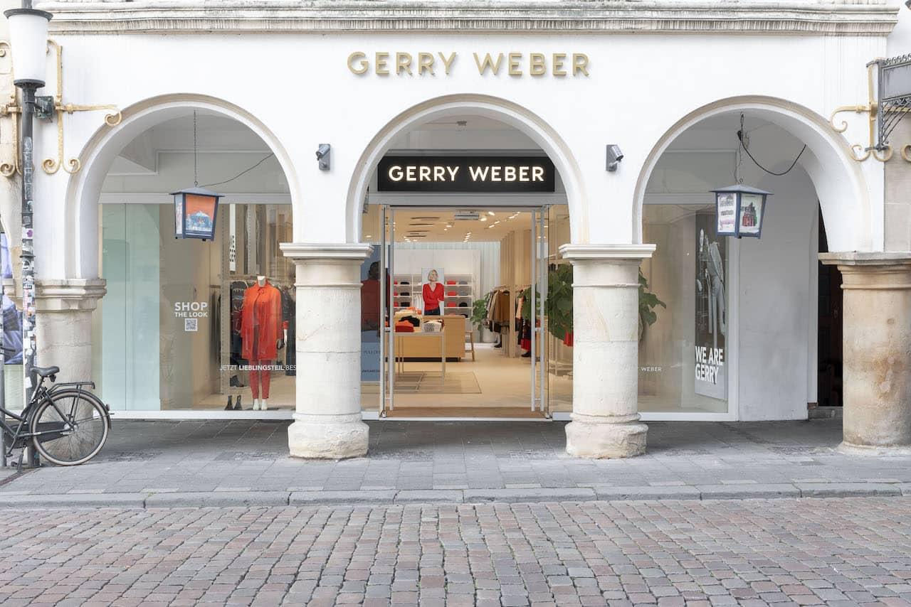 GERRY WEBER eröffnet neue Stores in Rosenheim und Münster