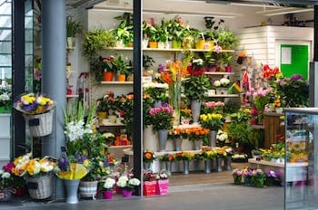 Blumengeschäft Ladenbau