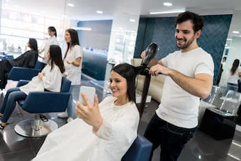Friseur Ladenbau